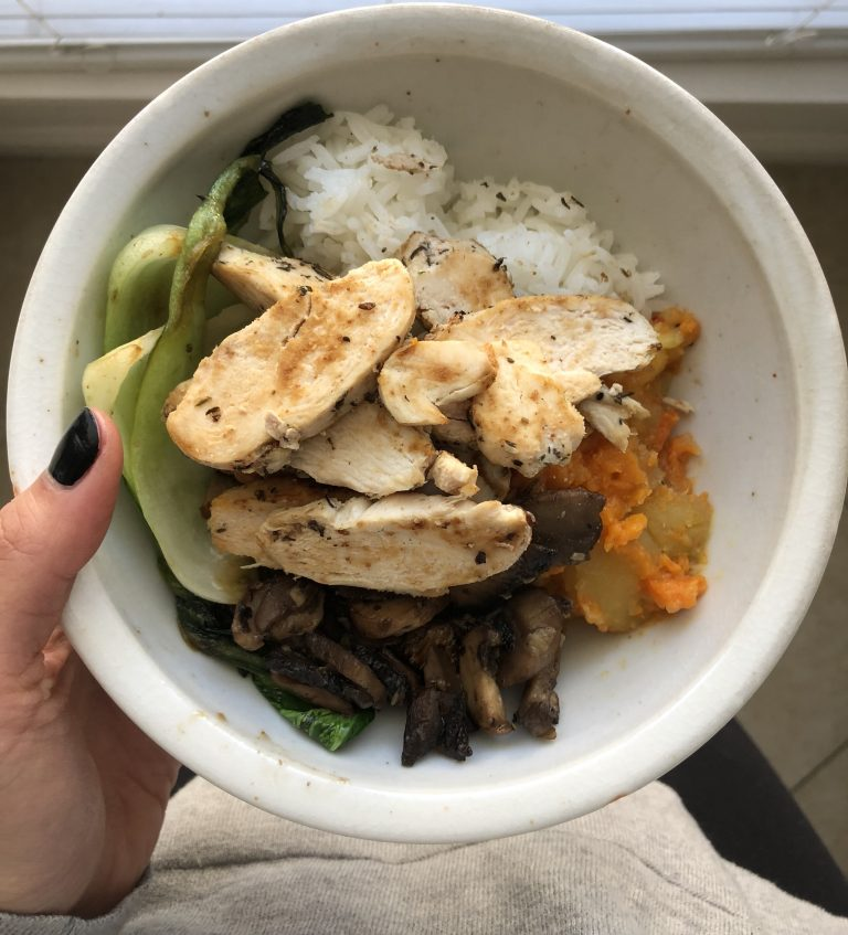 real food: inspirational Mother Earth bowl